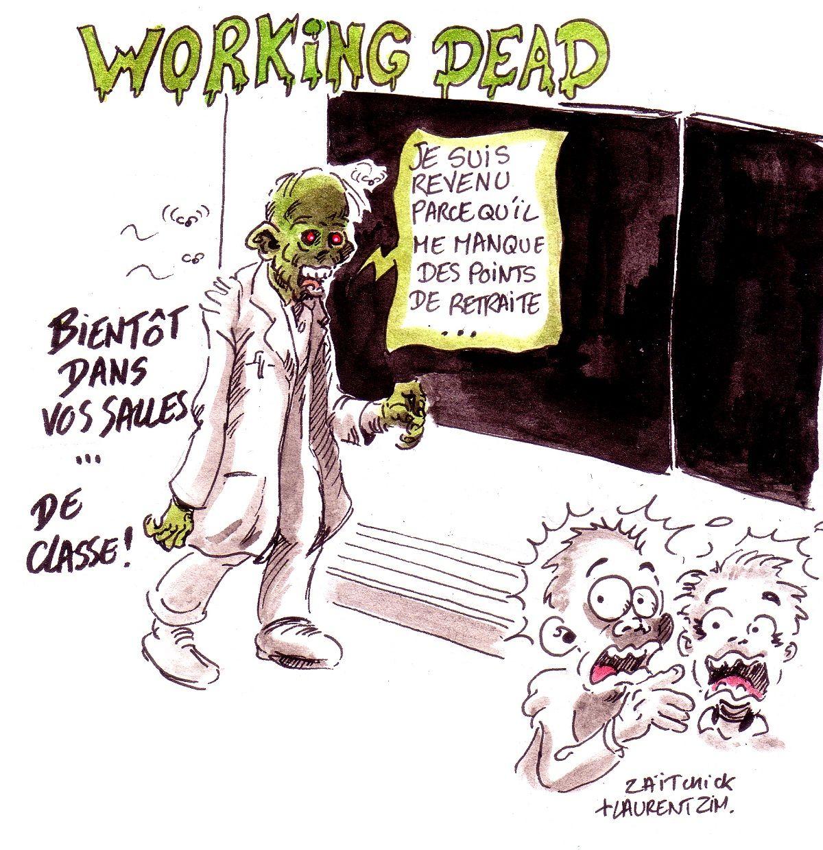 Laïc zombie | Humour politique, Humour, Les zombies