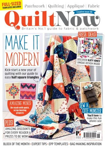 Quilt Now Issue 18