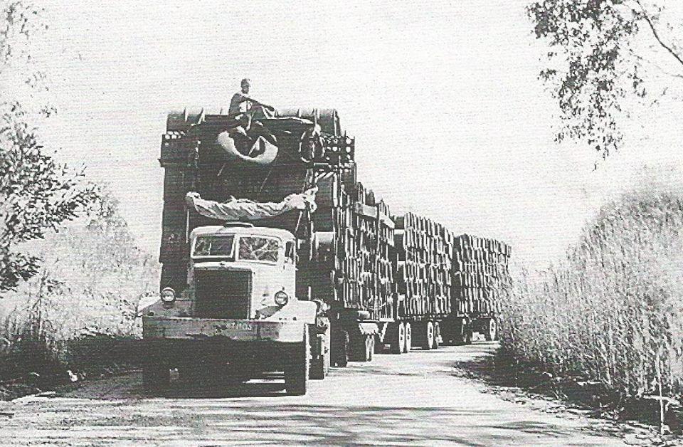 WW2 Diamond T in remote outback Australia.