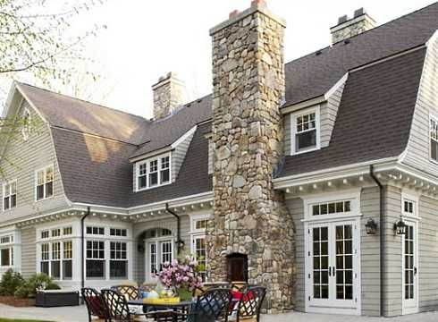 Field Stone Fireplace a girl can dreamfield stone fireplace on outside of amazing