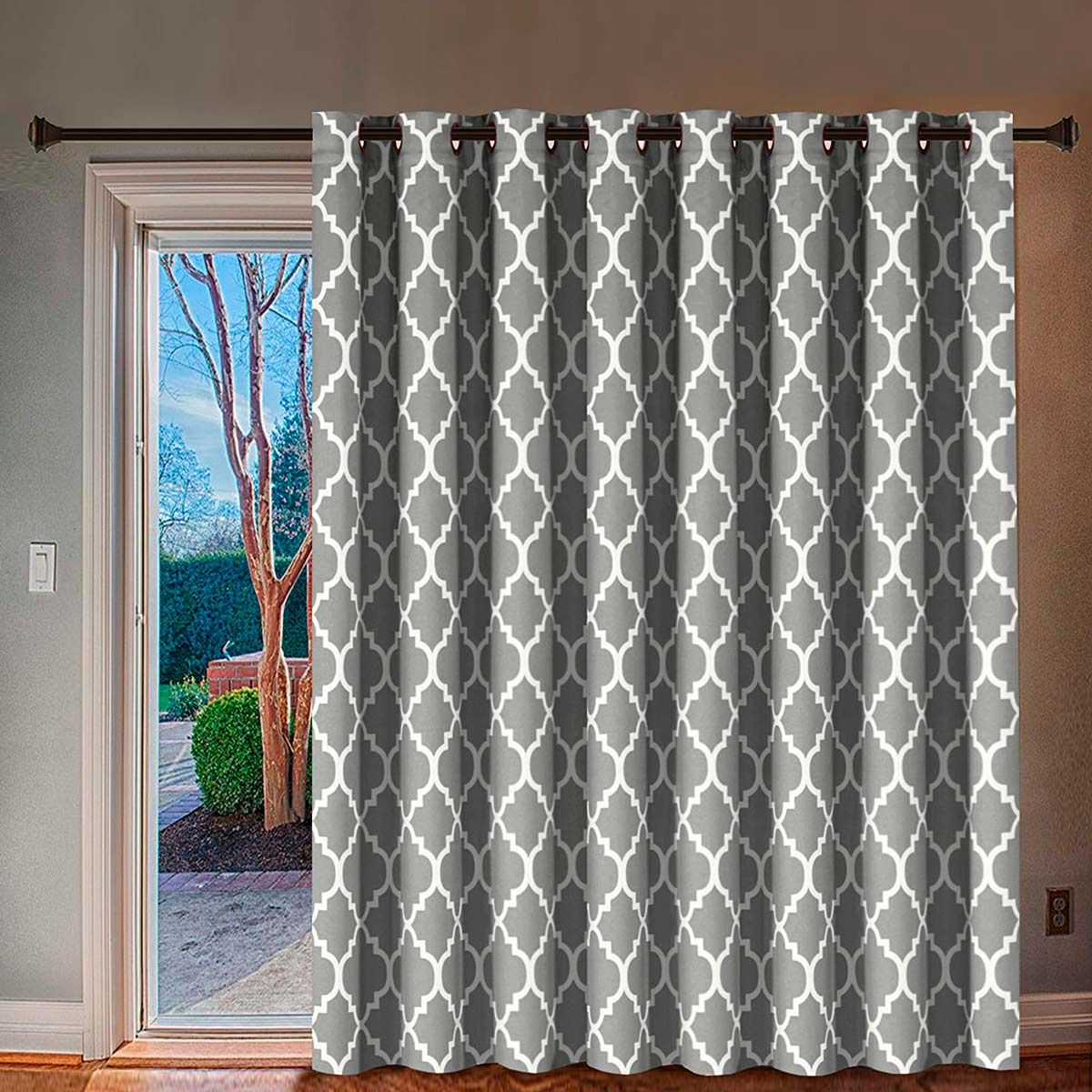 Patio Door Curtain Ideas For Different Needs And Tastes With