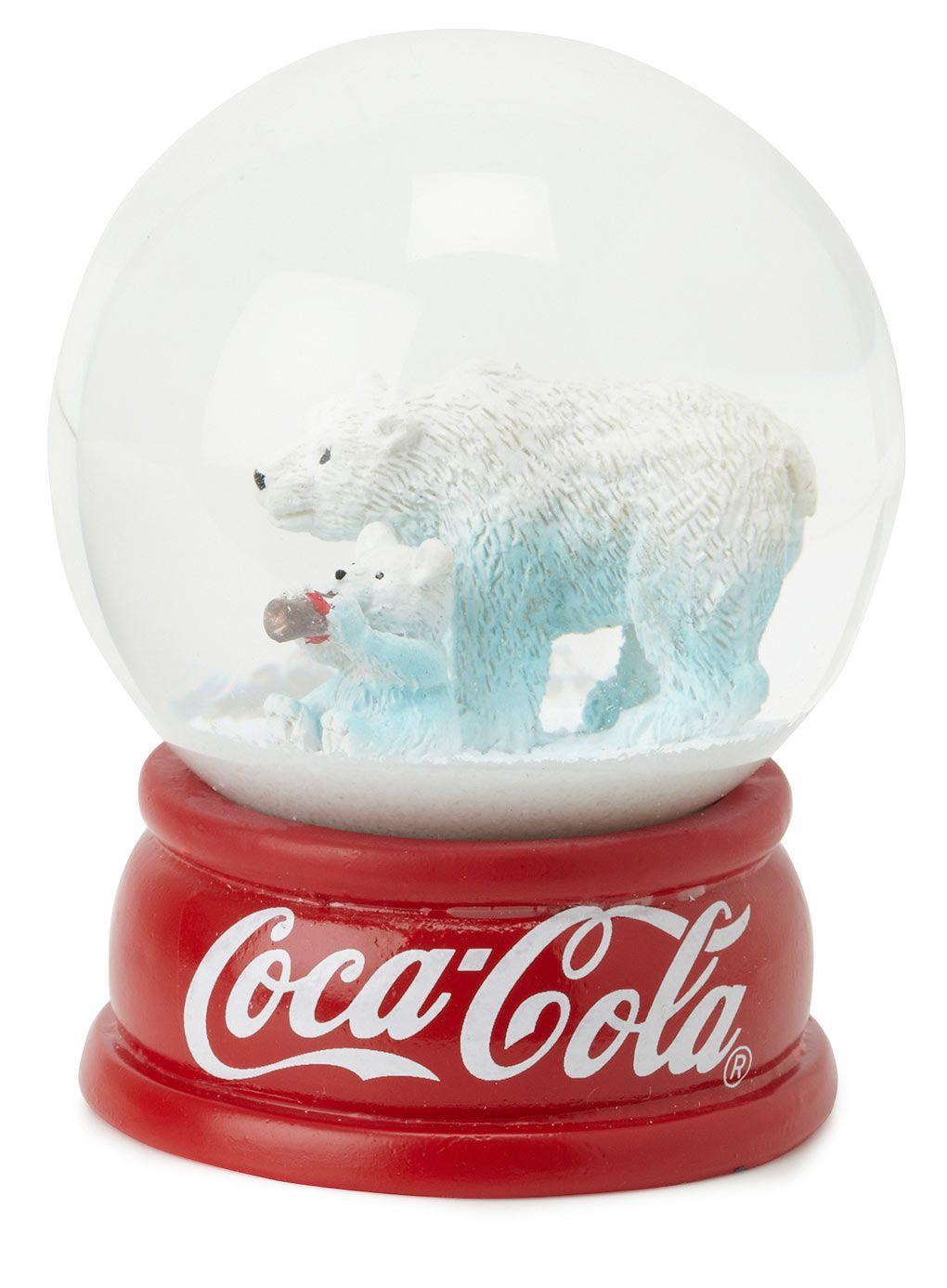 Globo de neve da Coca Cola.