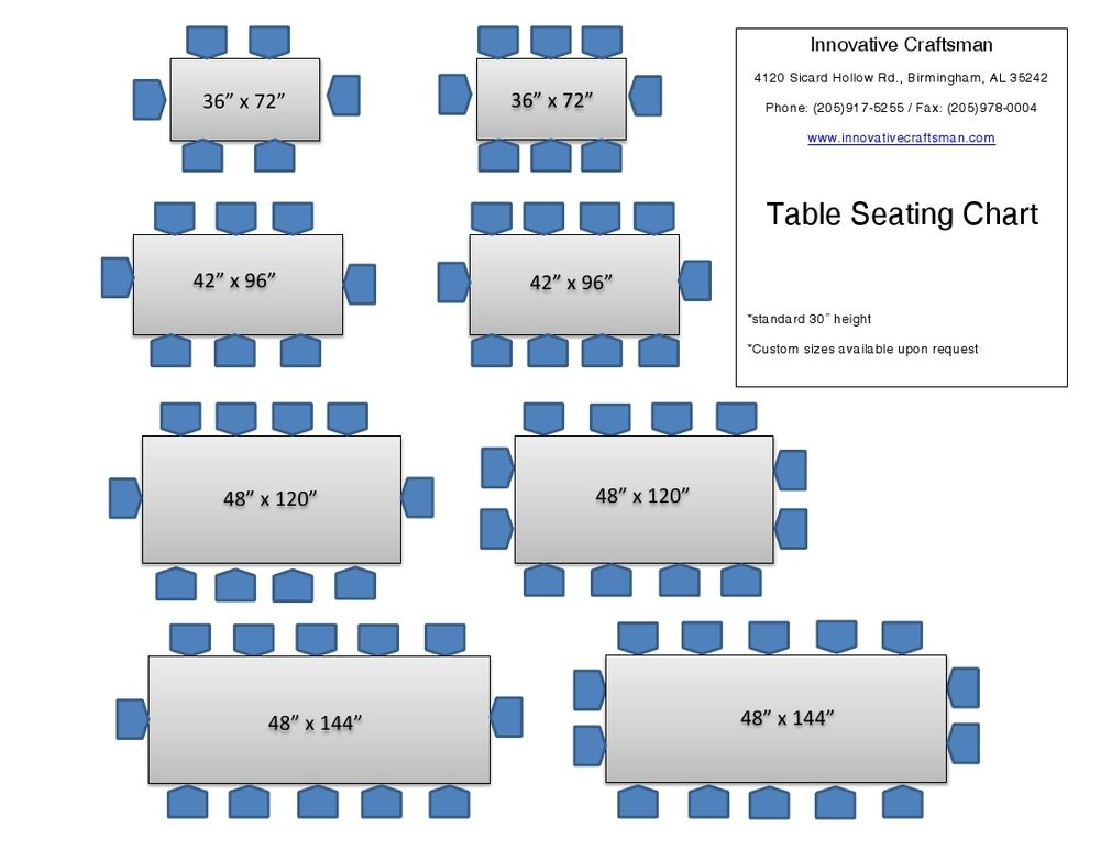table sizes and seating  Google Search  Dream house