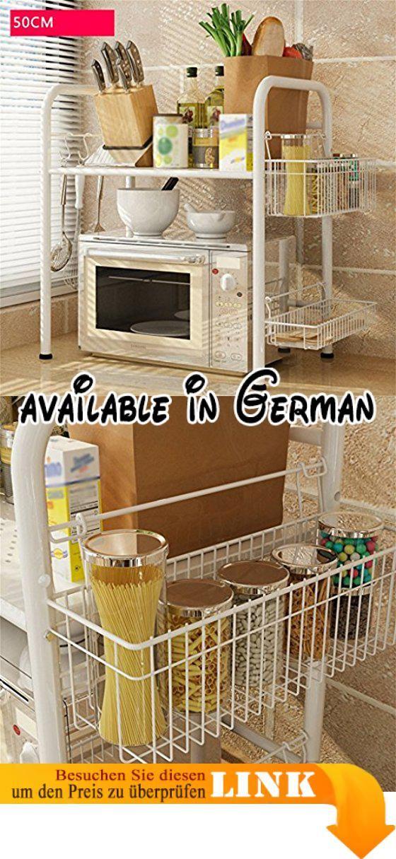 B078WQX7WK : L&Y Kitchen furniture Küche Regal-Landung Mikrowellen ...