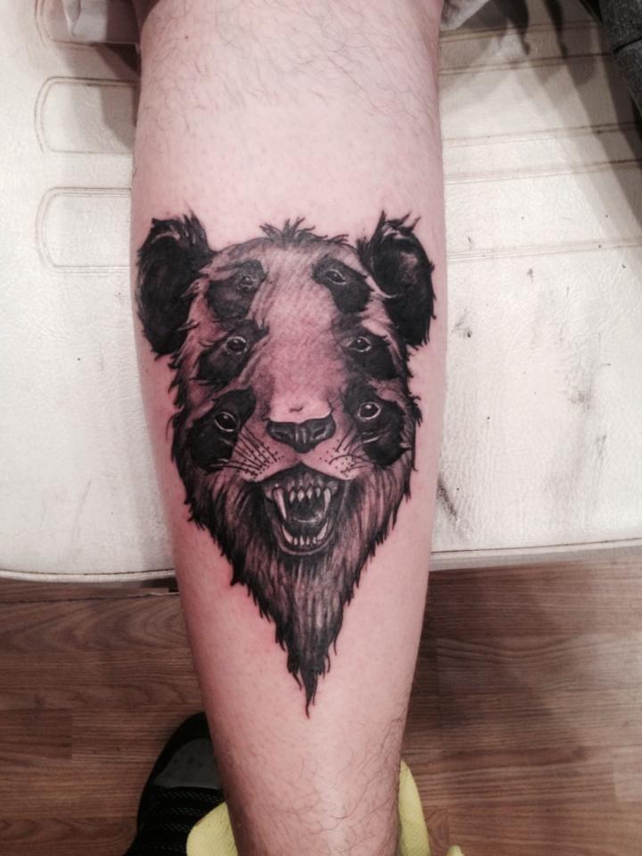 Evil Panda | Animal tattoo, Tattoos, Skull tattoo - photo#5