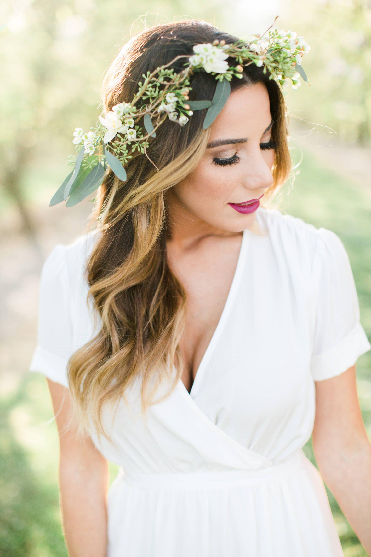 boho style on fashionborn // flower crown