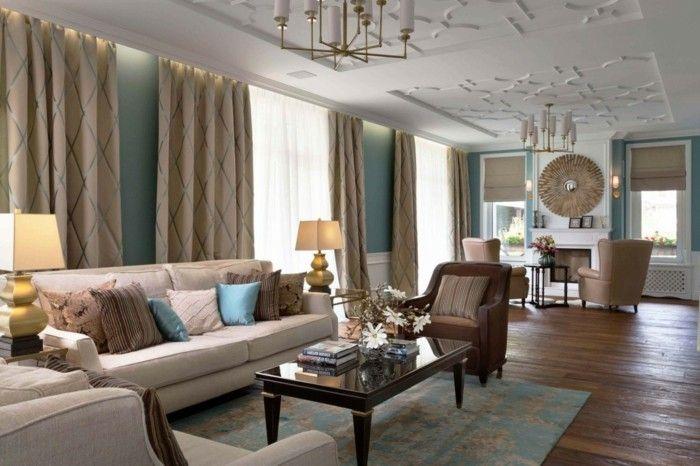 wohnzimmer einrichten ideen modernes wohnzimmer im klassischen stil ...