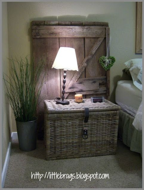 Guest Bedroom and Rusty Buckets Household Decorations Pinterest