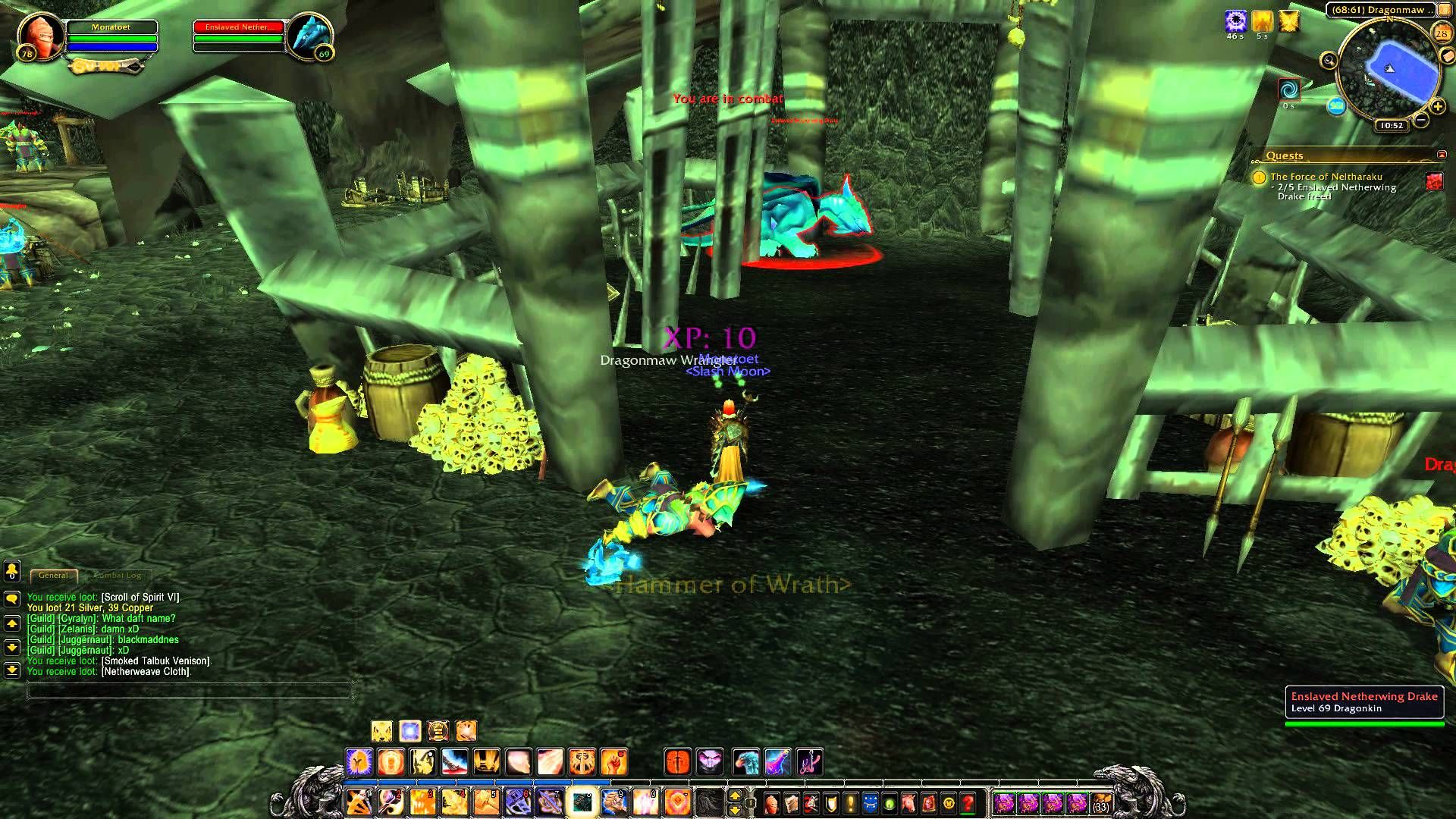awesome Quest 1062: The Force of Neltharaku (WoW, human, paladin)