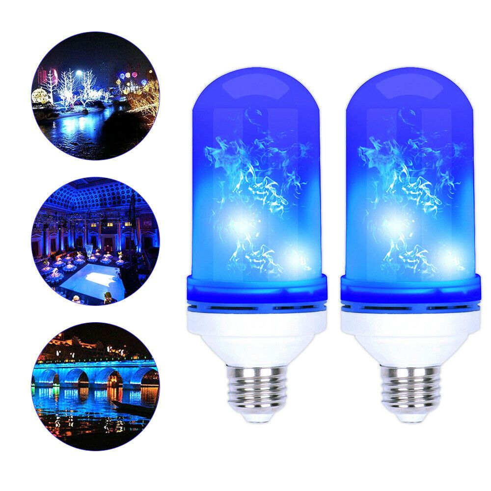 2x Blue Flame Led Light Bulb Flickering Lamp 5w For Home Party Decoration Ld1713 Affilink Lamps Lampshades Lampshadeideasapa Led Light Bulb Lamp Led Lights