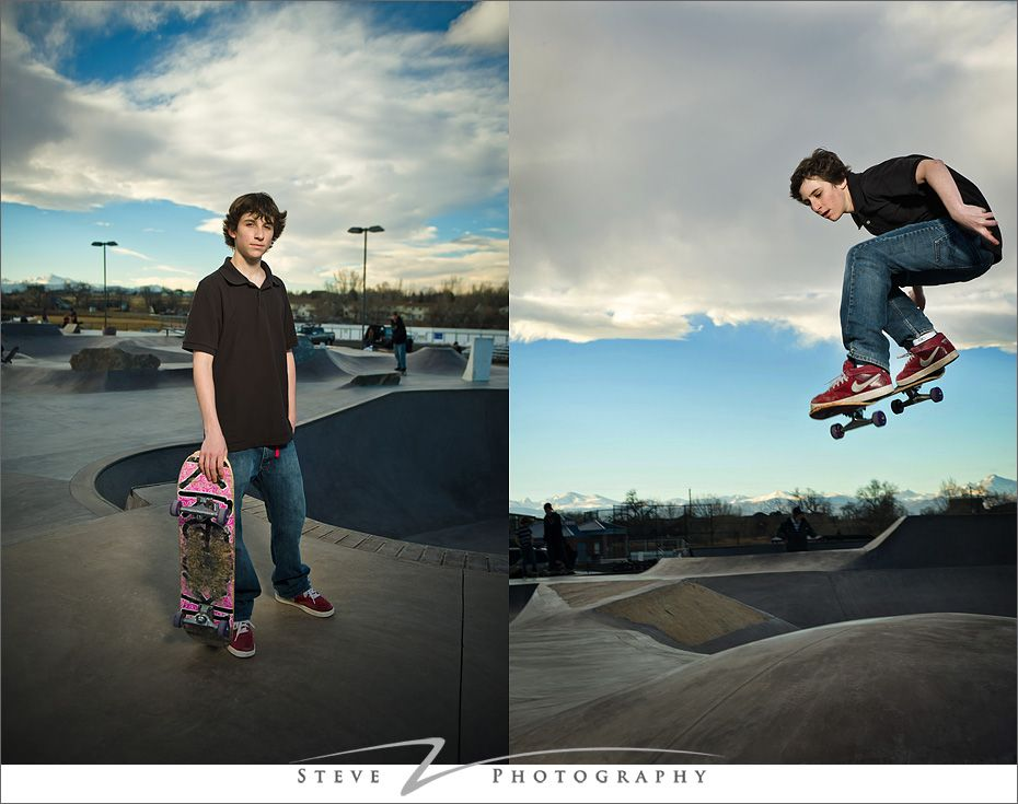 Skateboarding Senior Portraits Senior Photography Poses Environmental Portraits Skateboard Photography