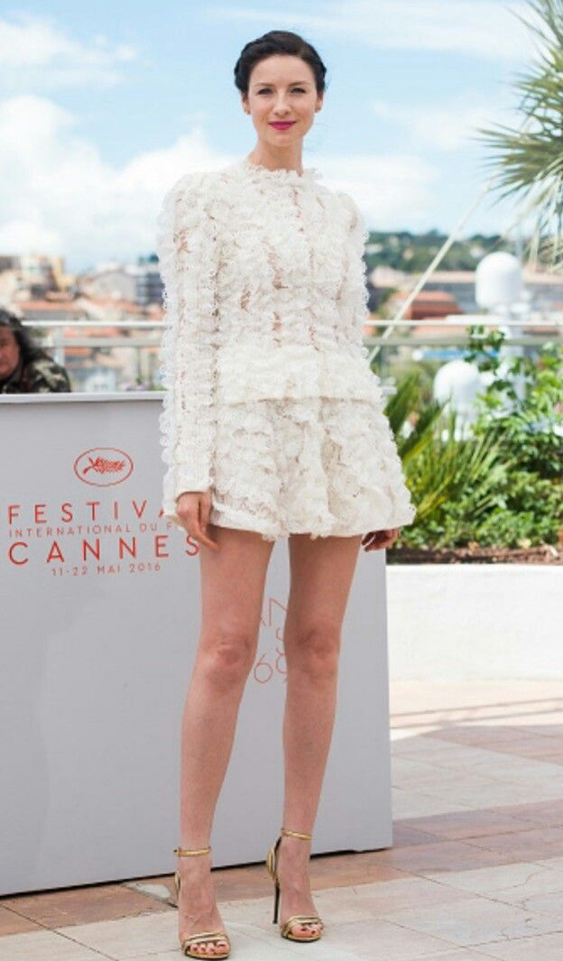 Caitriona at Cannes