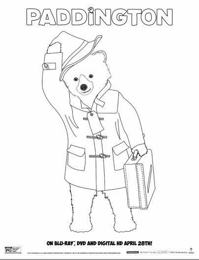 8 Free Paddington Bear Printables Bear Coloring Pages Paddington Bear Flag Coloring Pages