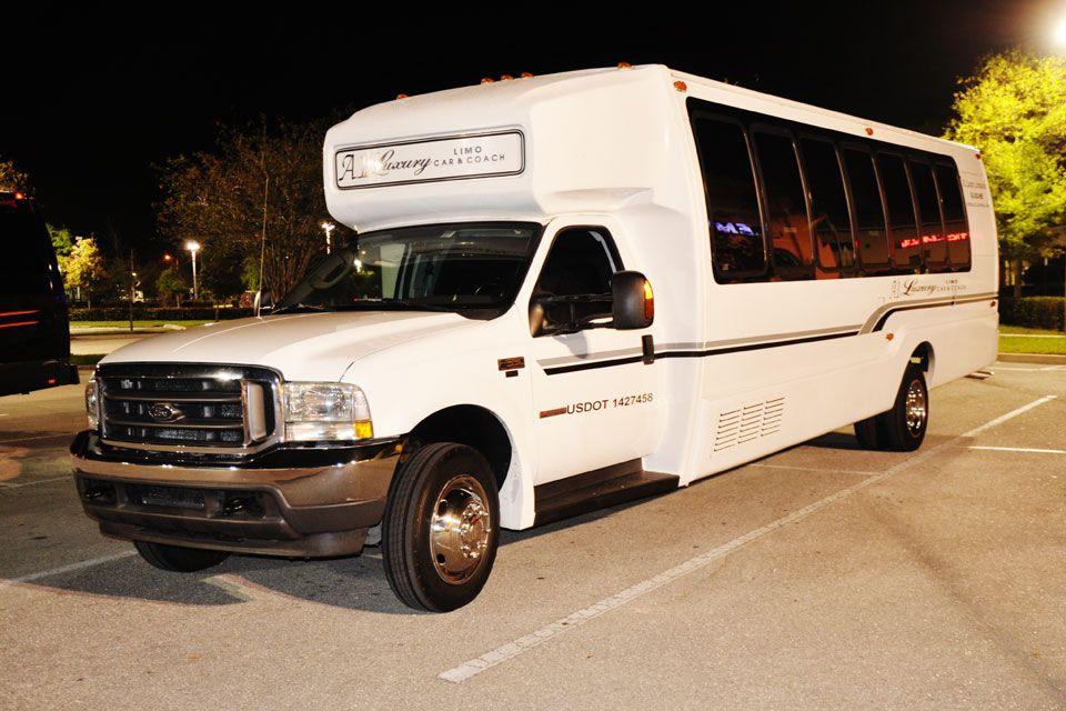 Party Bus in Birmingham AL rental limo limos partybus