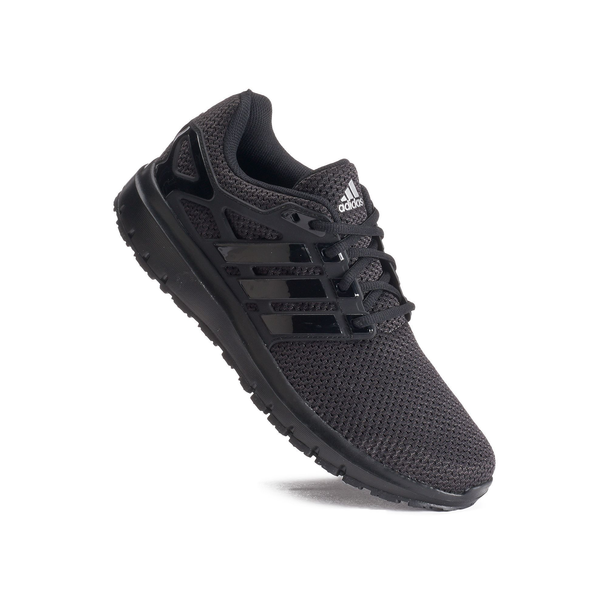 super popular 44e27 422cf Adidas Energy Cloud Mens Running Shoes, Size 10.5 Wide, Black