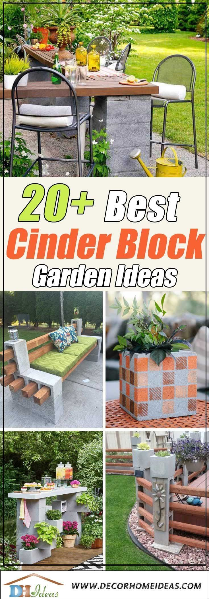 20+ Cool Ways To Use Cinder Blocks In The Garden #betonblockgarten 20 Cool Ways To Use Cinder Blocks In The Garden #cinderblocks #betonblockgarten 20+ Cool Ways To Use Cinder Blocks In The Garden #betonblockgarten 20 Cool Ways To Use Cinder Blocks In The Garden #cinderblocks #betonblockgarten