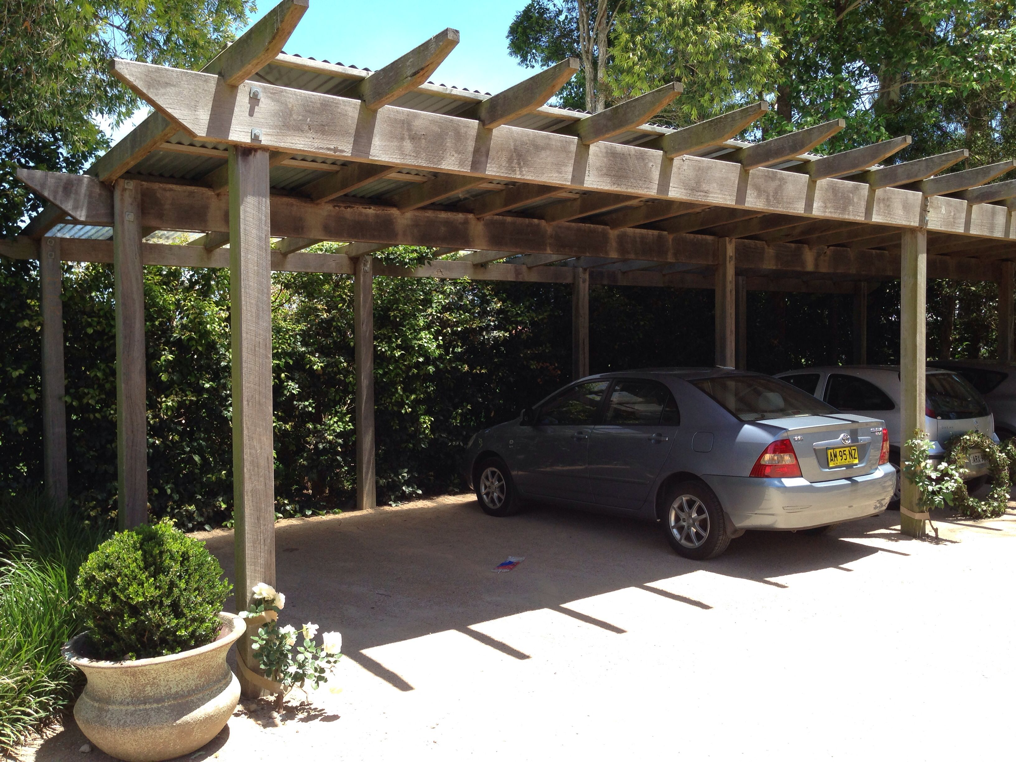 Rustic carport car ports pinterest car ports for 4 car carport plans