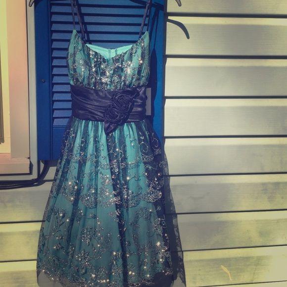 Teal JC Penny's Dresses