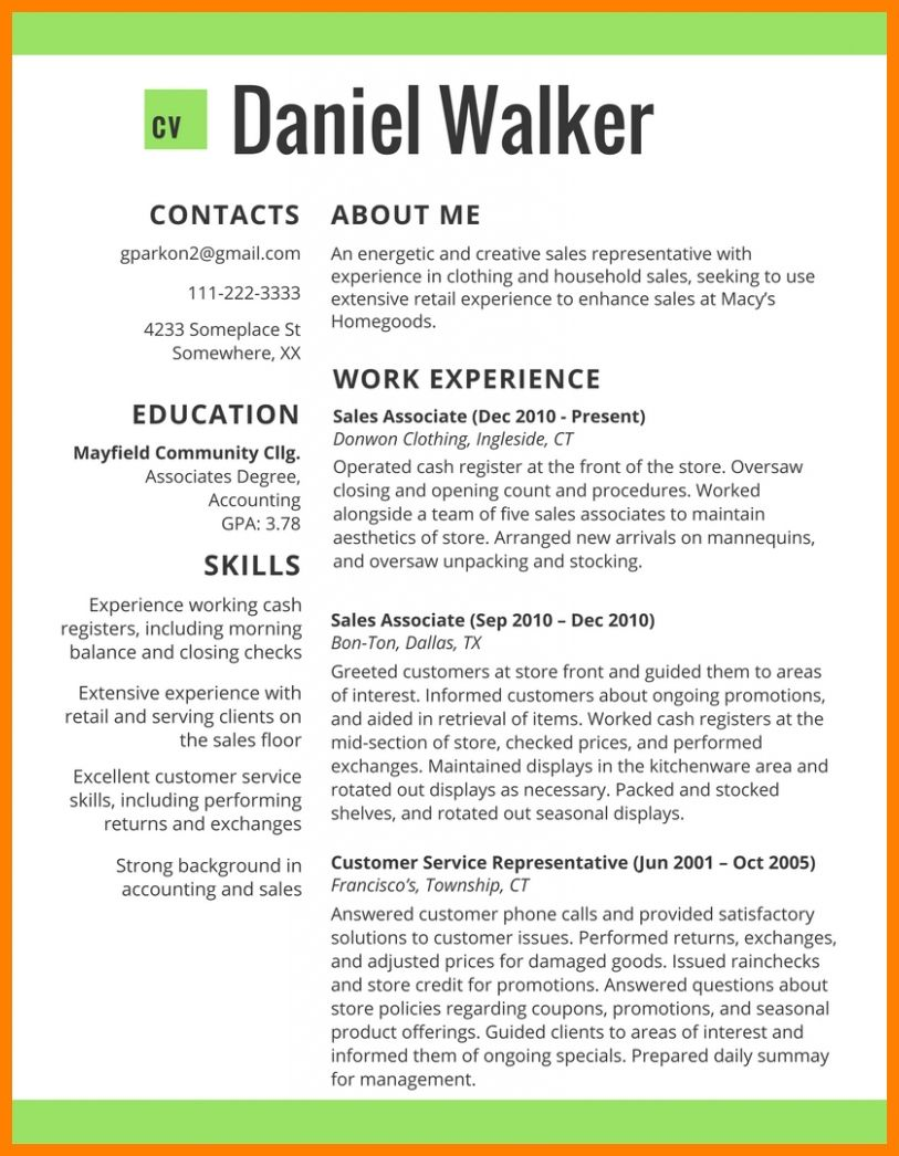 Trends New Resume Format Resume Format Latest Resume Format