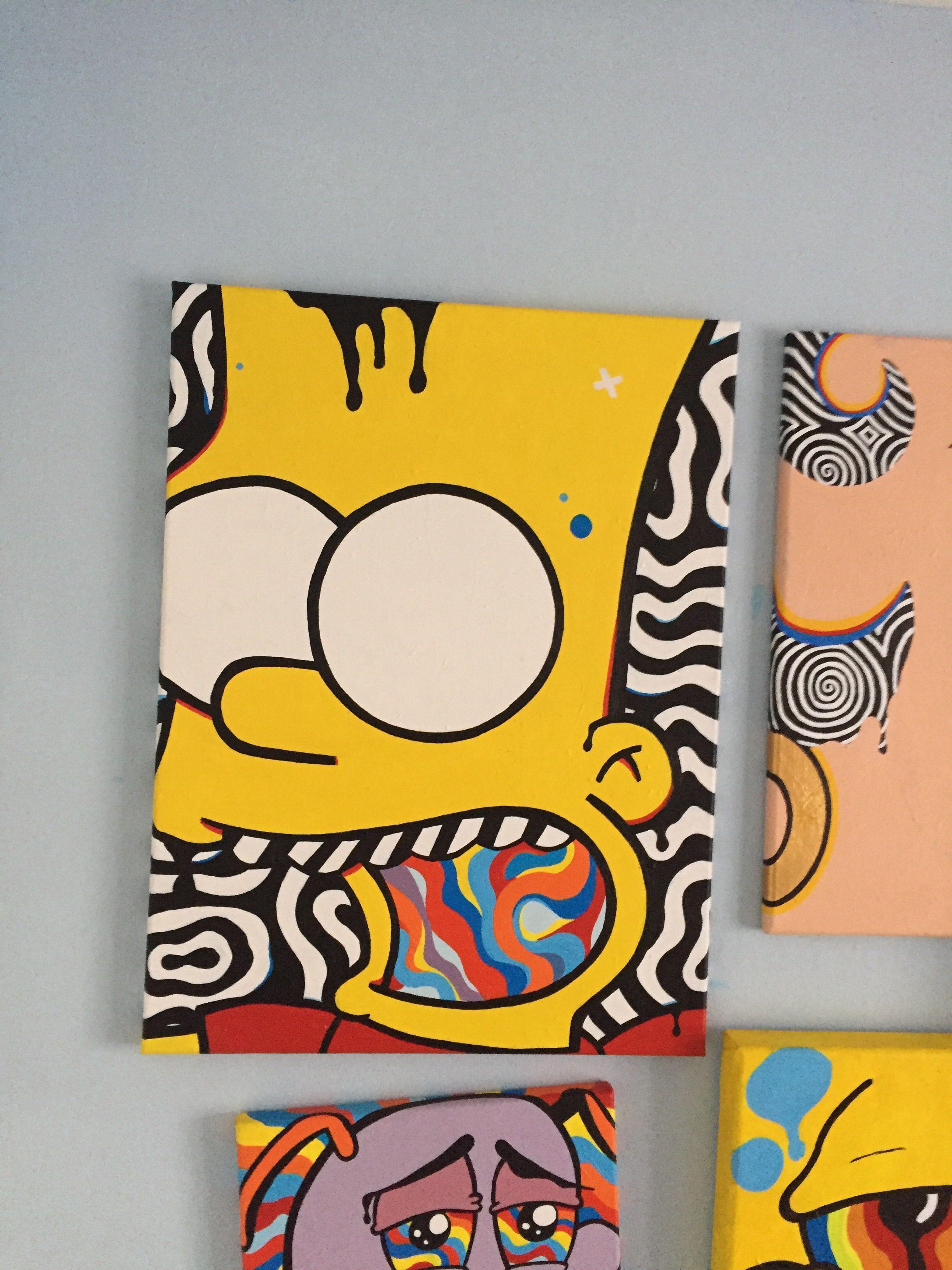 Bartodelics Bartodelics Carinaklinkenberg 512carinakli Neue kunst Bart Simpson 1…