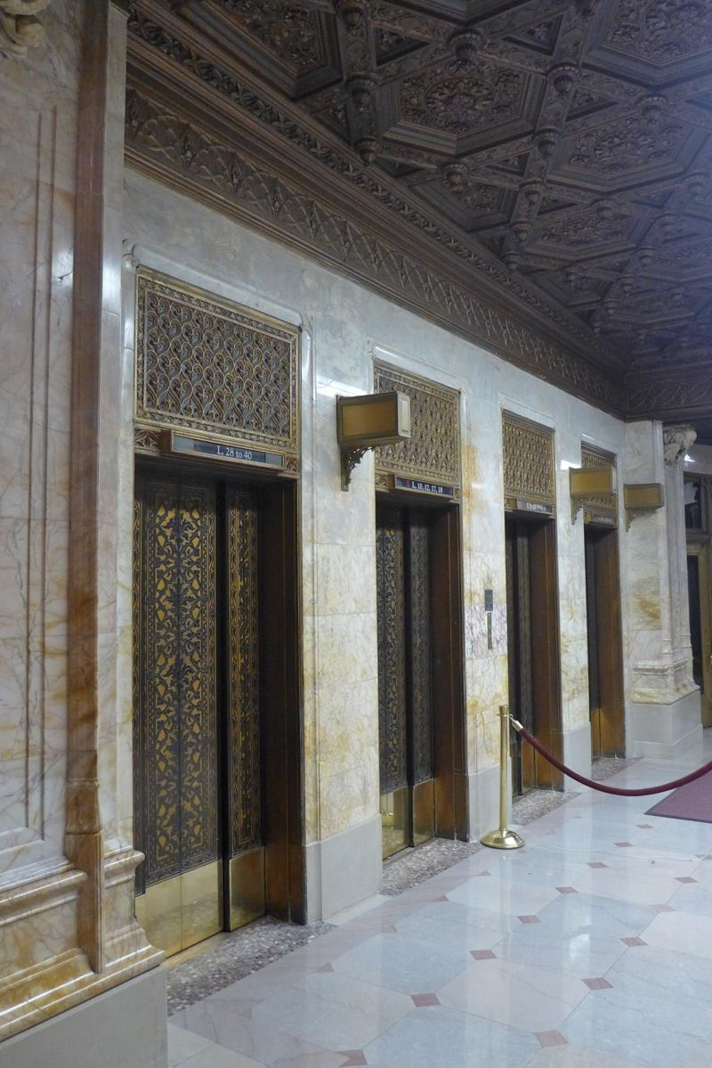Inside the Woolworth Building's Lobby (With images