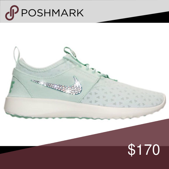 Bling Nike Juvenate Shoes with Swarovski Crystals 💎 Authentic New Women s  Nike Juvenate Shoes in Pale 188a409b0