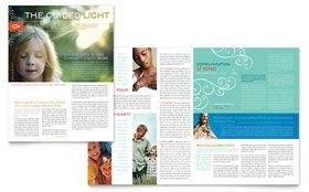 Christian Church Religious  Newsletter Template  Newsletter