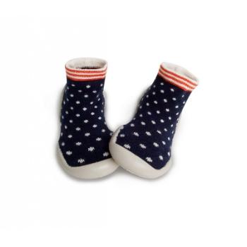 Photo of Le Collégien Navy Blue Polka Dot Slipper Socks – Trouva