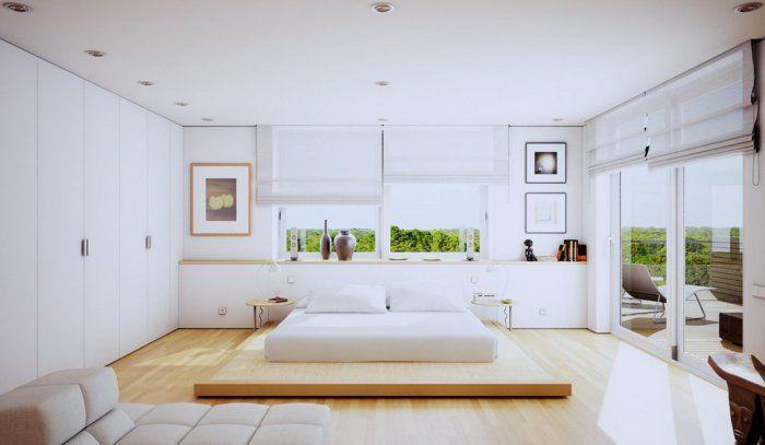 Modernes Wohnen 110 Ideen Wie Sie Modern Wohnen Schlafzimmer