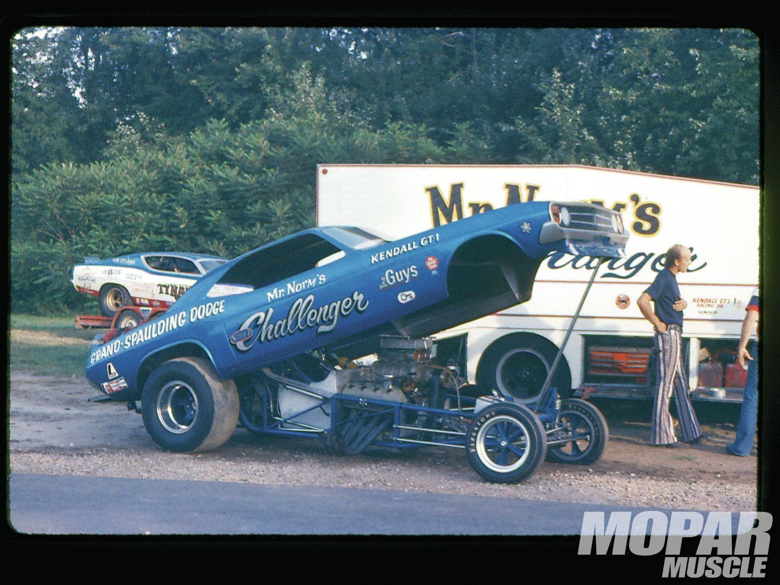 78 Challenger Funny Car | Vintage Mopar Drag Racing Photography ...