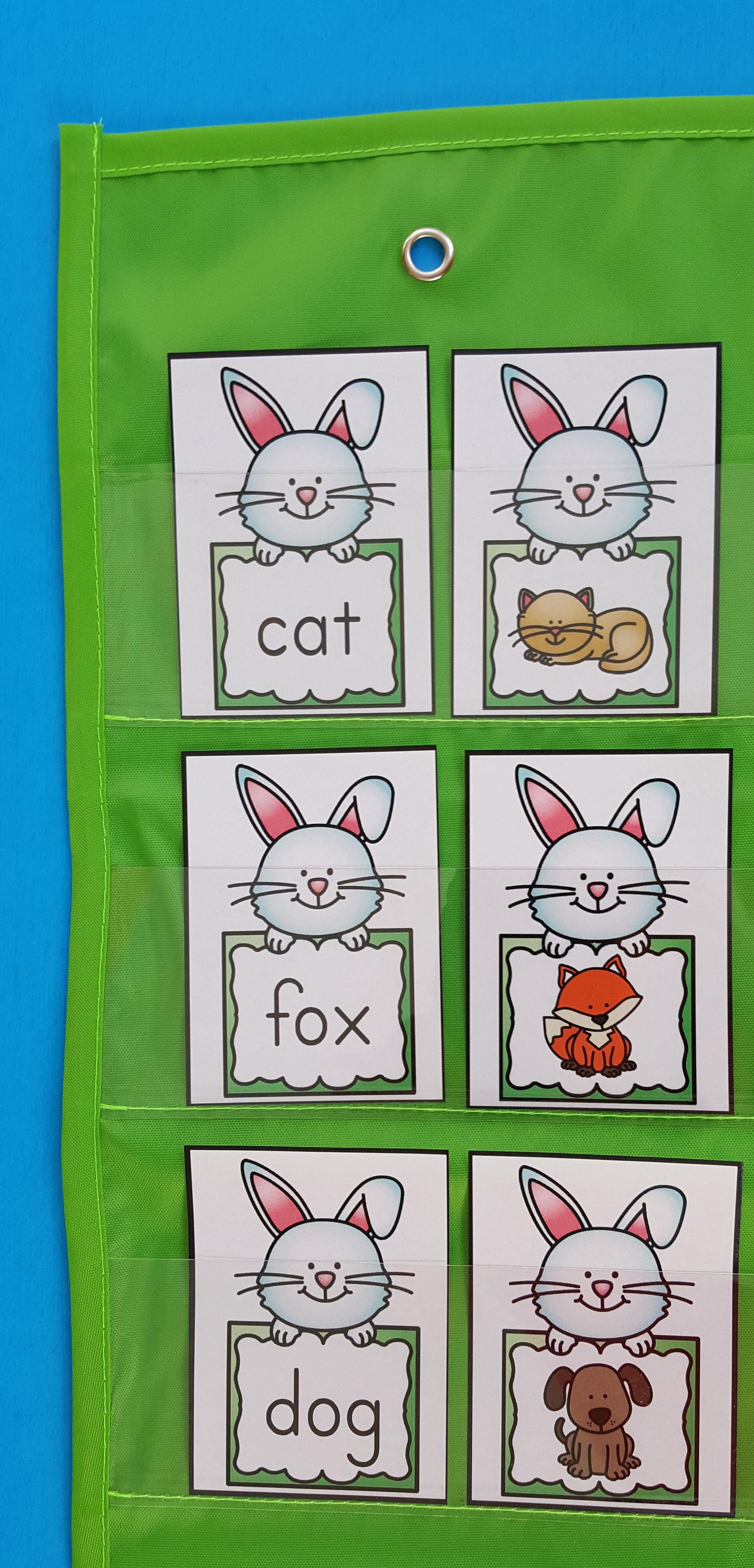 Easter Cvc Bunny Match Up