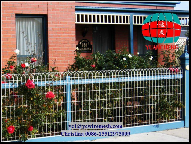 decorative woven wire fencing - Google Search | Fencing Ideas ...