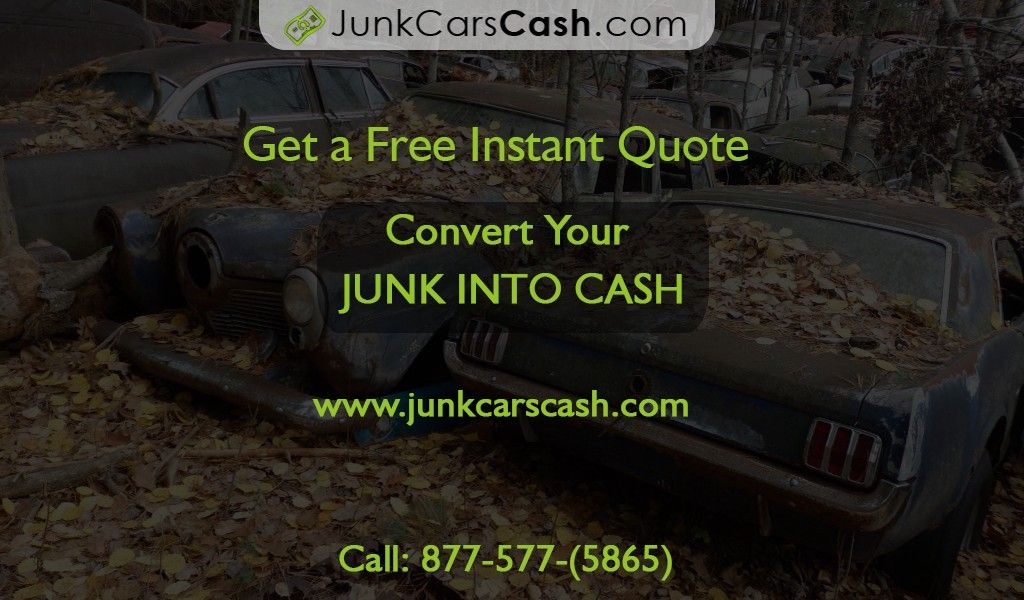What you will get from junk car buyers and what to keep in mind ...