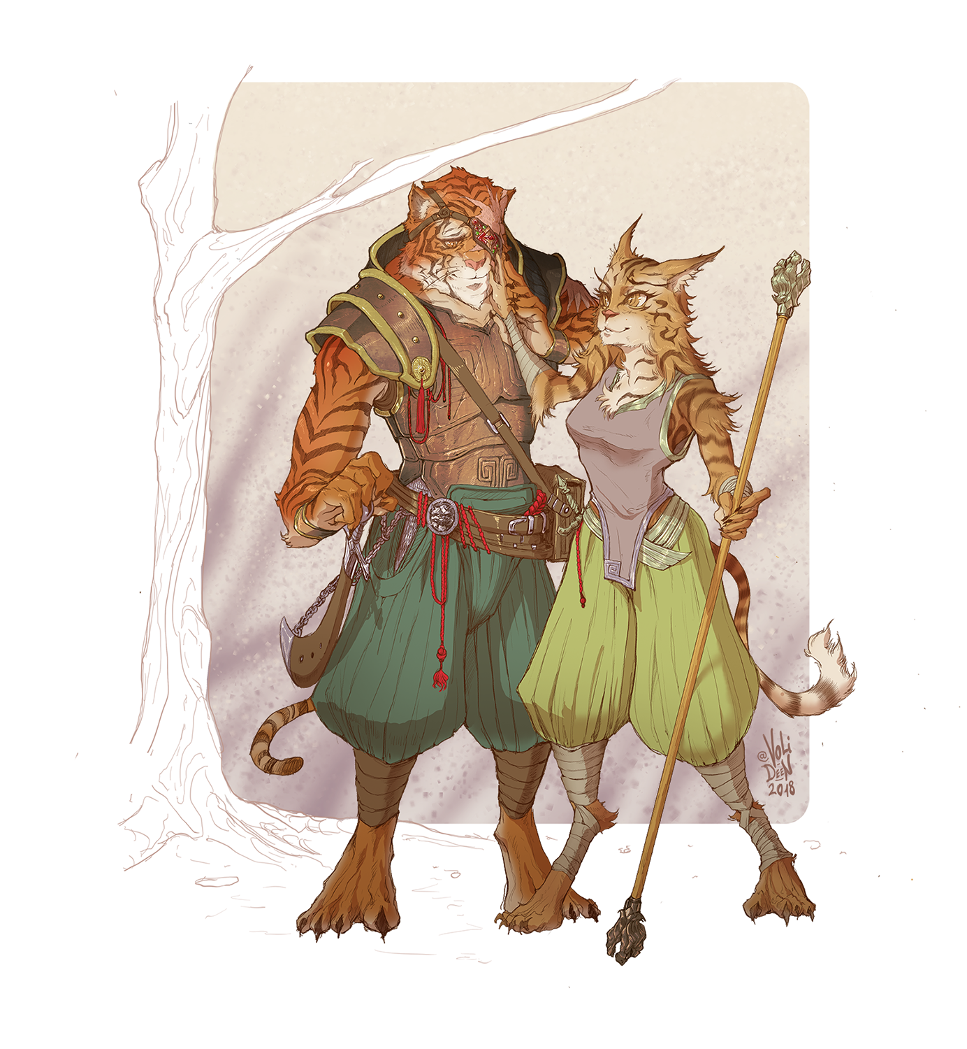 Oc Art Commission Couple Of Tabaxi Adventurers Cloud The Druid Misty The Monk Characterdrawing Character Design Dnd Characters Character Art I understand that tabaxi are supposed to be tropic. oc art commission couple of tabaxi