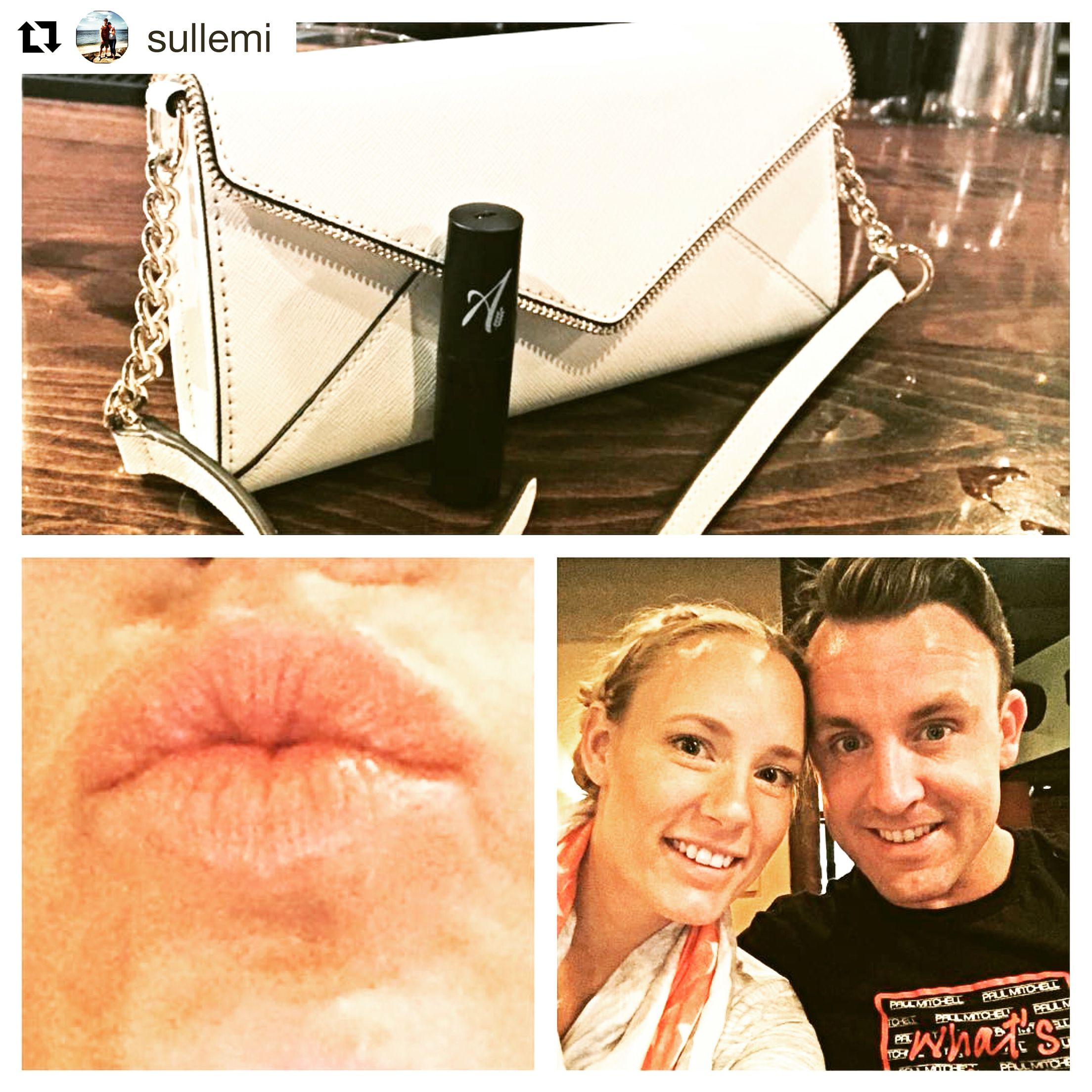 Thanks for the shout out, @sullemi! So happy you're loving our high-performance organic lipstick in breathless!  Get the look? Shop www.aislingorganics.com!  #Repost @sullemi with @repostapp ・・・ Loving my girls line Aisling Organics and the beautiful lipstick she sent me. Prepped and ready for date night @kerry_sully.