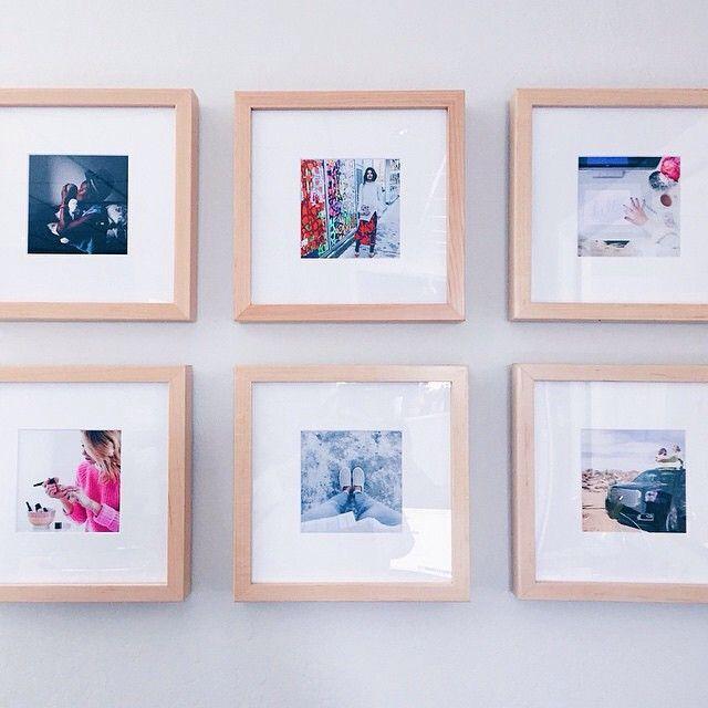 Framebridge On Instagram Beautiful Gallery Wall Of Instagram