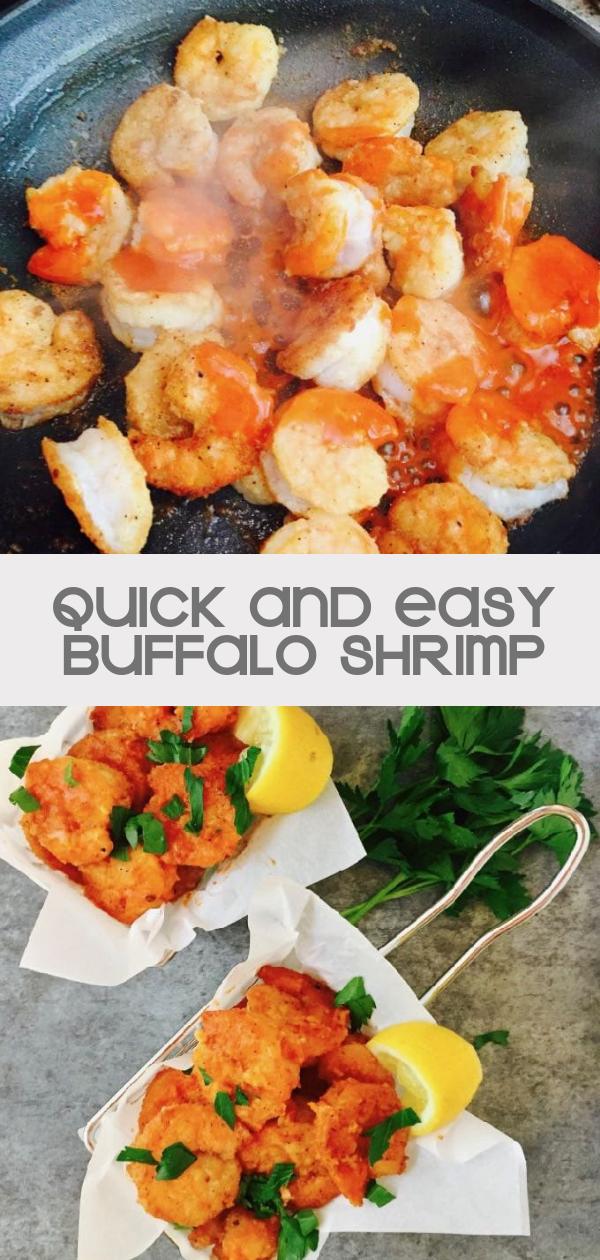 The Best Crispy Buffalo Shrimp Recipe | gritsandpinecones.com