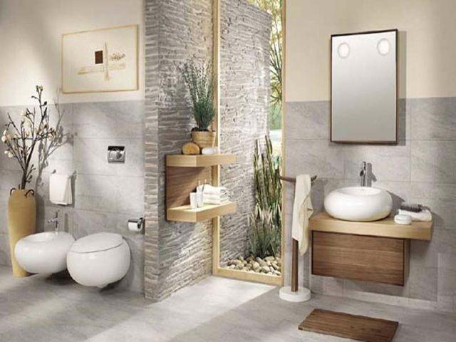 20 idées pour une salle de bains zen paisible et confortable   Salle ...