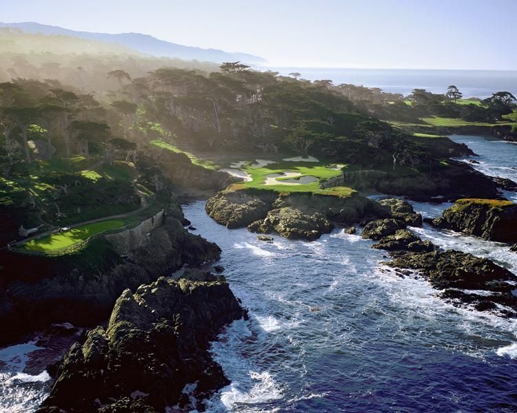 Cypress Point Club No 15 143 Yards Pebble Beach Calif It S A Setting As Stunning National Park Just Hens To Have Golf Hole Built On