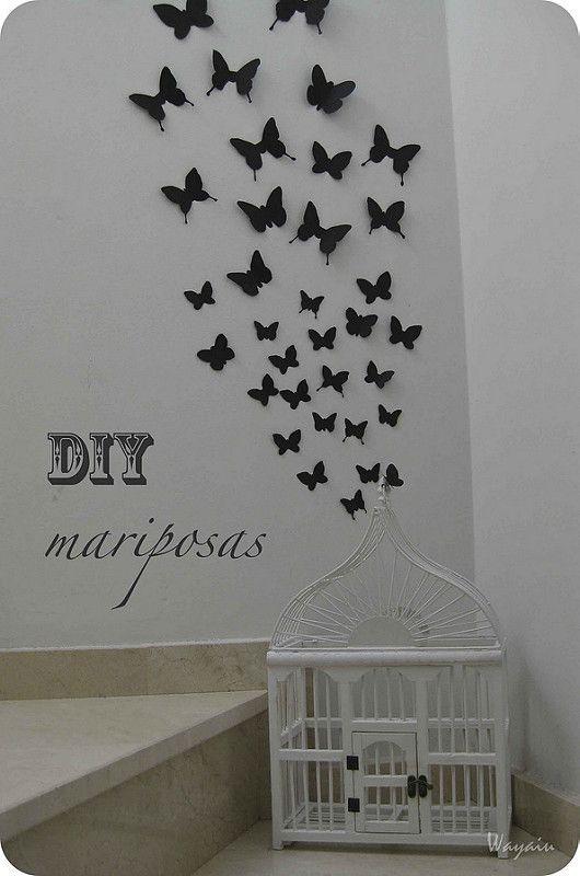 42++ Decoracion con mariposas en la pared inspirations