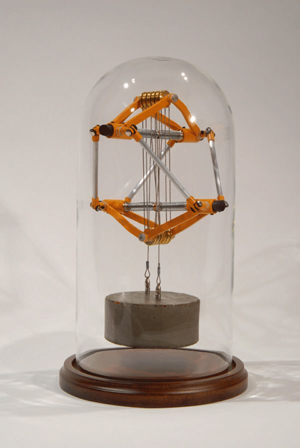 Mechanical Objects With One and Only One Purpose: To Hold Themselves Up