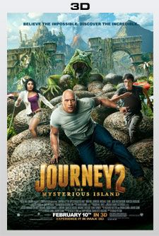 JOURNEY 2: THE MYSTERIOUS ISLAND Starring Dwayne Johnson, Vanessa Hudgens, & Josh Hutcherson.  Opens February 10th, 2012 in 3D and IMAX 3D!