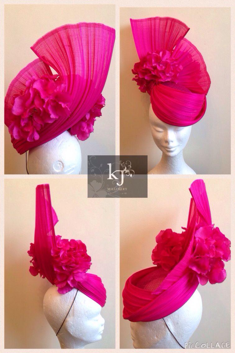 Jinsin and silk flower headpiece #millinery #jinsin #fascinator #ascot #wedding