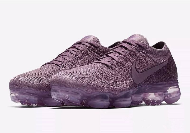 26cf4d2ffd7 Nike Air VaporMax 2018 Flyknit Violet Purple Women Shoes