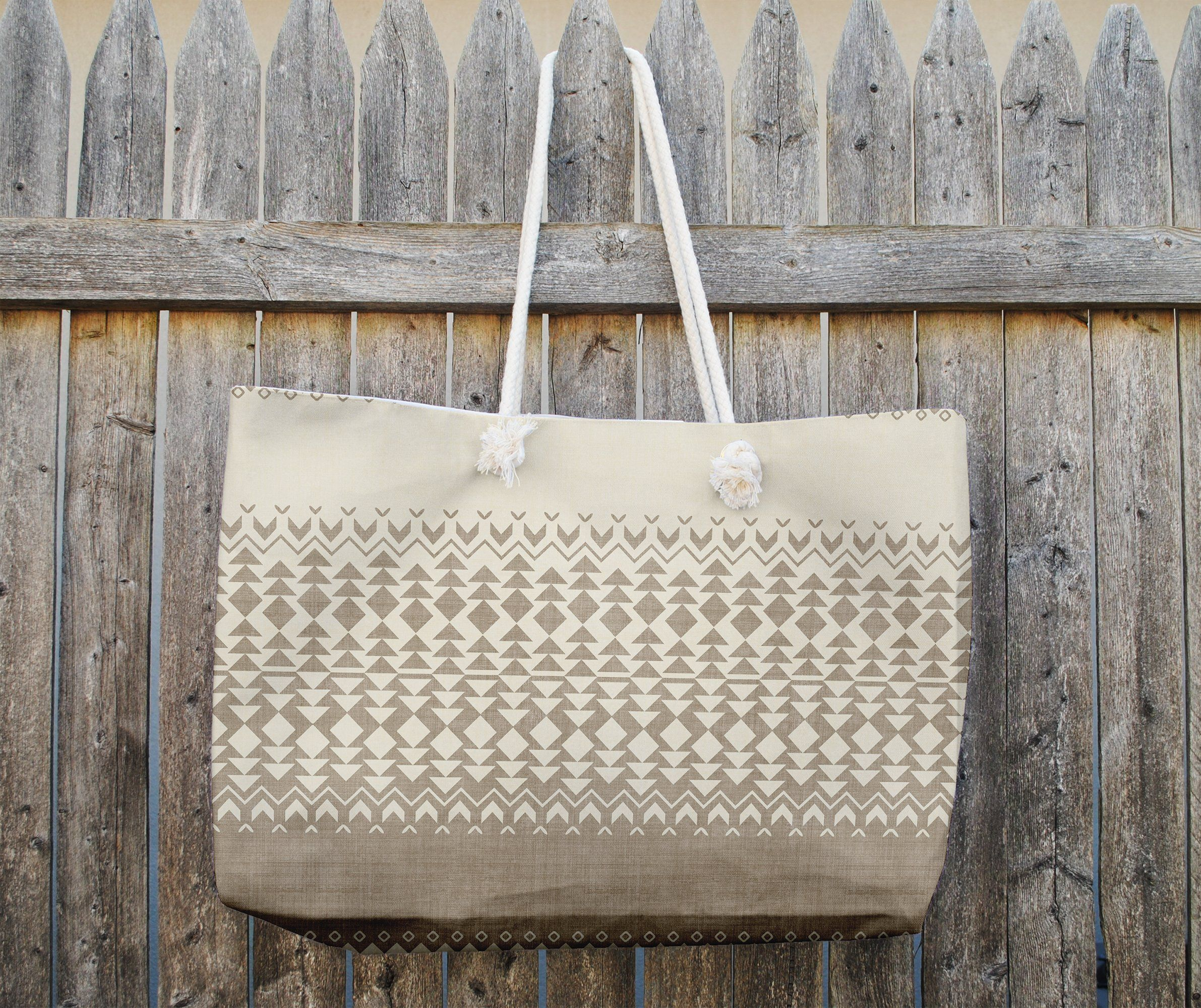 Photo of SOLLIA TAN Tote Bag By Becky Bailey – 25in x 33in