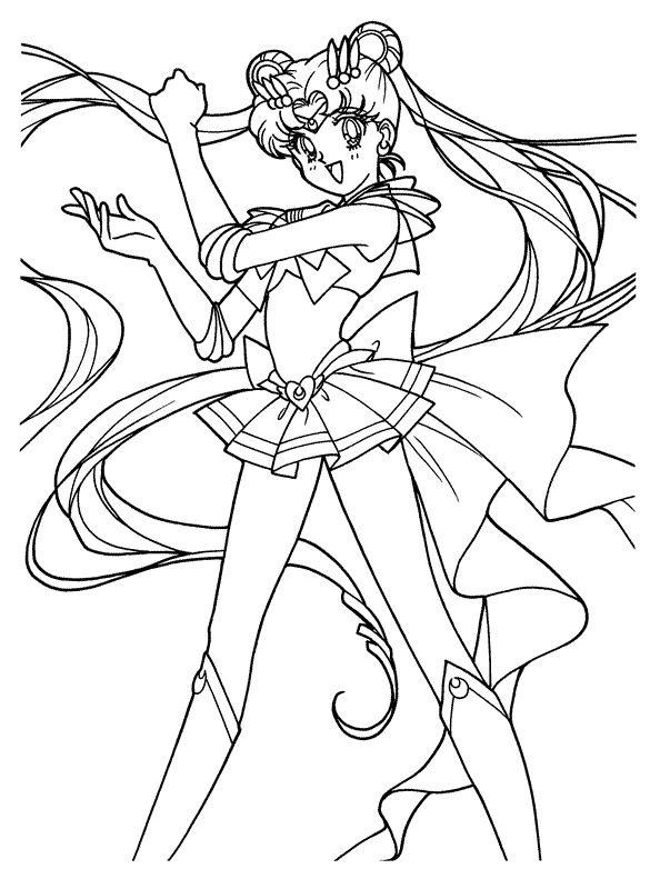Kids N Fun Coloring Page Sailor Moon Sailor Moon Sailor Moon Coloring Pages Moon Coloring Pages Sailor Moon Wallpaper