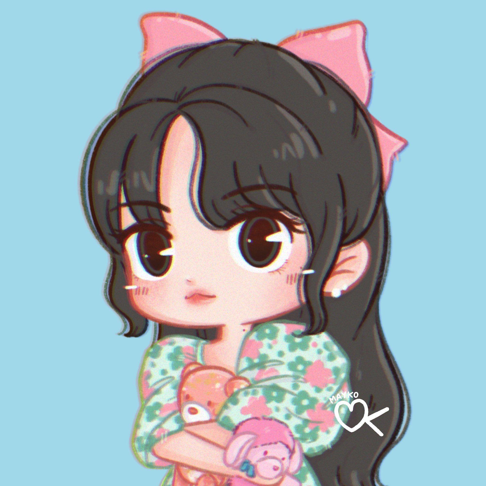 Mayko On Twitter In 2021 Chibi Girls Cartoon Art Cute Cartoon Wallpapers