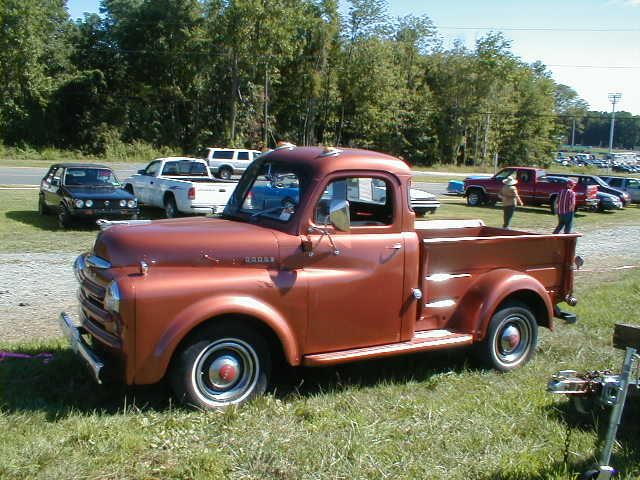 antique pickup trucks | 50 Dodge Pickup Truck - CLIC CARS FOR ...