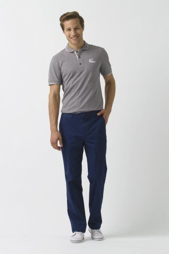 Lacoste Classic Fit Gabardine Chino 34 : Pants