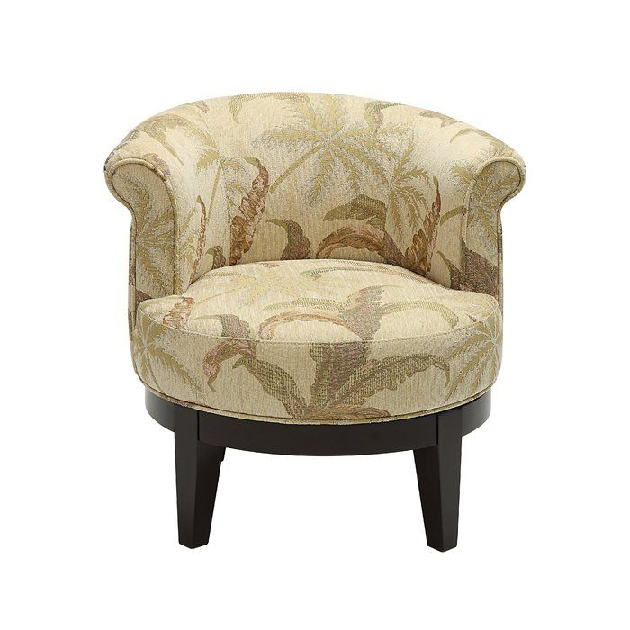 Best Haywood Swivel Barrel Chair With Images Accent Chairs 400 x 300